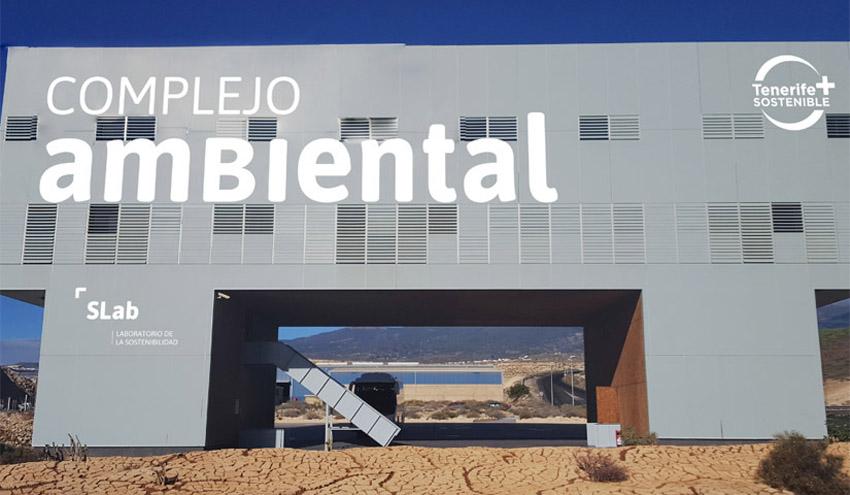 El Complejo Ambiental de Arico recibe un 24% menos de residuos debido al confinamiento