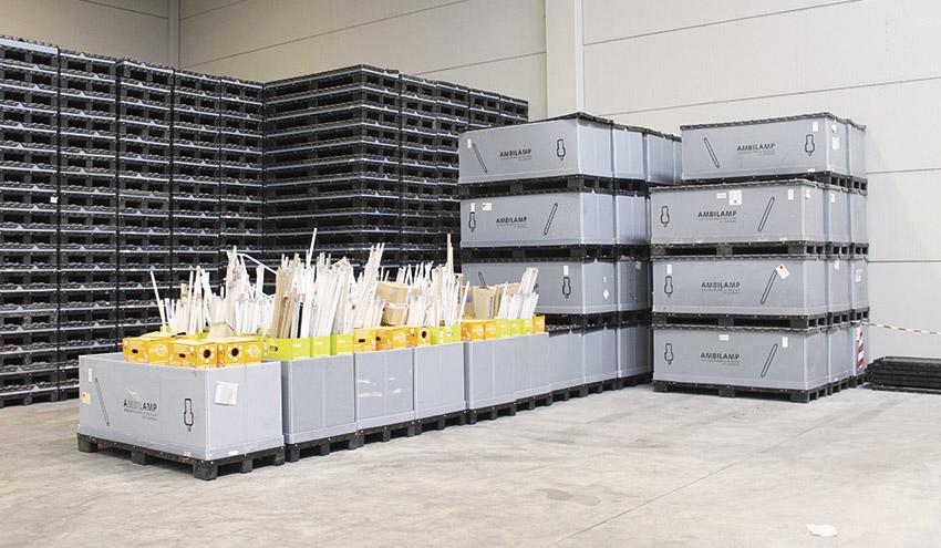 AMBILAMP gestionará los residuos eléctricos y electrónicos de Navantia