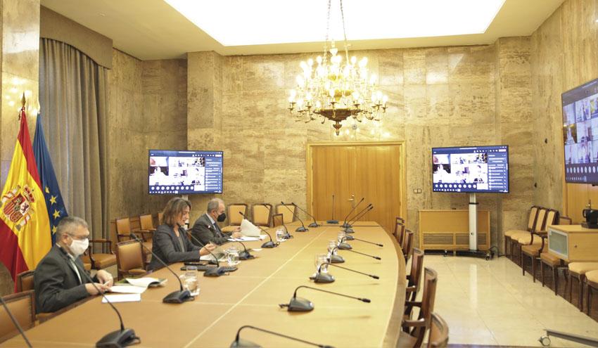 Ribera presenta los avances del Plan de Recuperación en materia de economía circular y recursos hídricos
