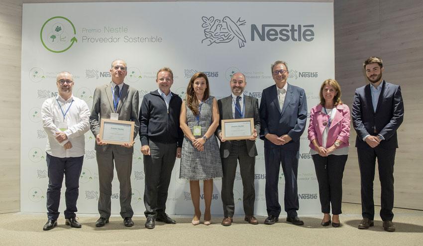 Nestlé premia el proyecto de riego solar de Azucarera por proteger el medio ambiente