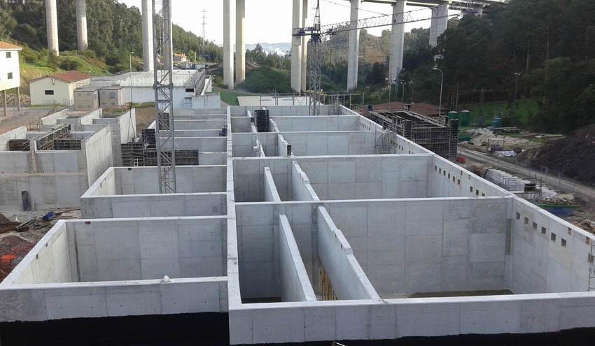 Las obras de ampliación de la ETAP de La Ablaneda alcanza el 85% de ejecución
