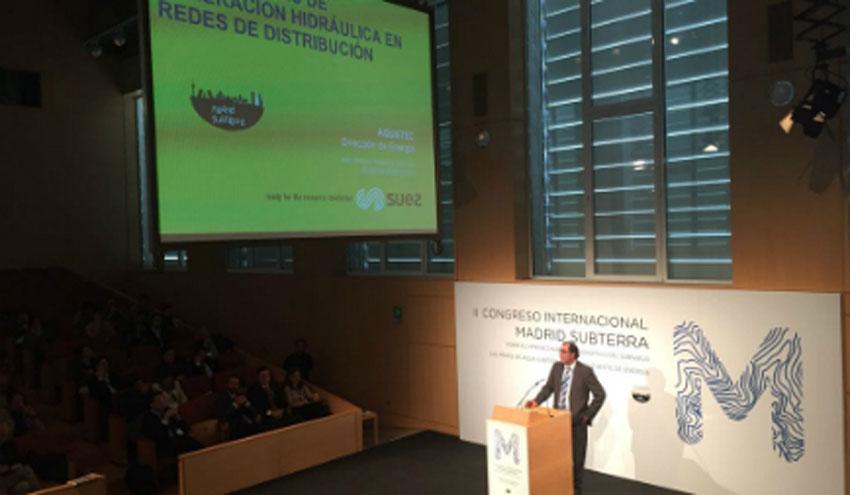 SUEZ presenta sus soluciones en el II Congreso Internacional Madrid Subterra
