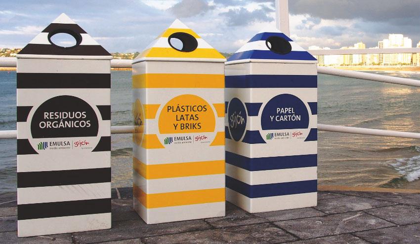 Los asturianos reciclan un 5,05% más durante 2015