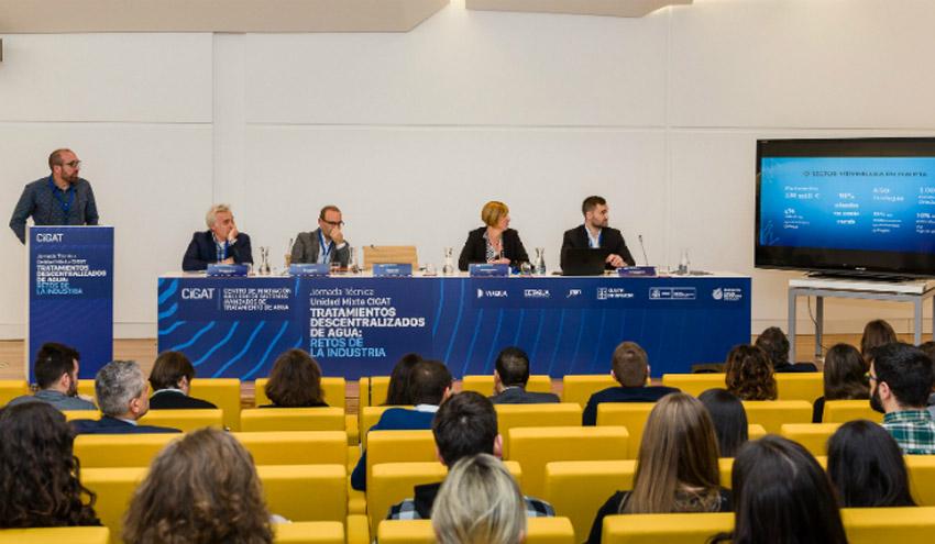 Los retos de la industria gallega en materia de tratamiento de agua, a debate en una Jornada de CIGAT