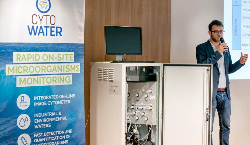 CYTO-WATER, la detección de microorganismos en el agua en solo 120 minutos ya es posible