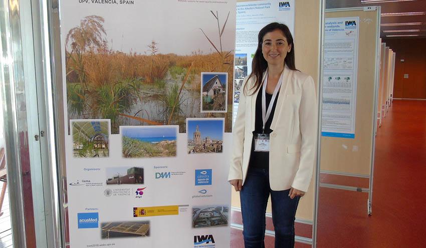 Global Omnium presenta el proyecto de uso de humedales artificiales para depuración en el congreso mundial de la IWA