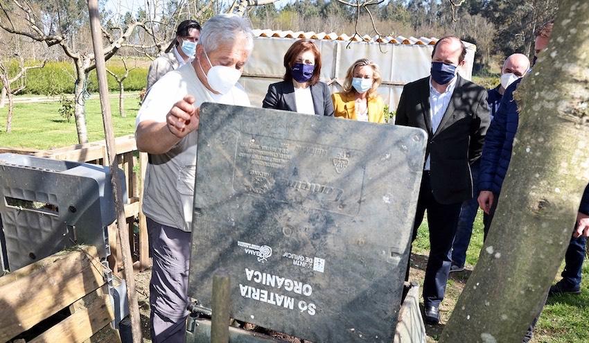 La red de compostaje doméstico de Galicia crece con 3.000 nuevos compostadores