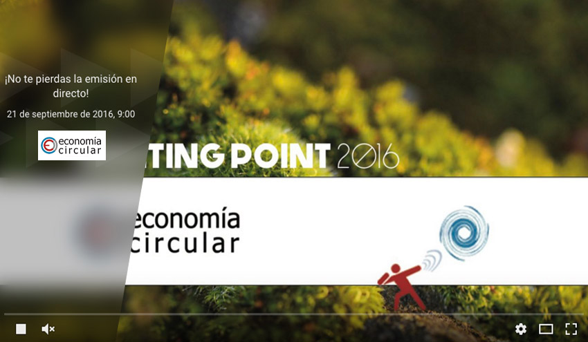 Sigue en directo el Meeting Point 'Impulsando la Economía Circular'