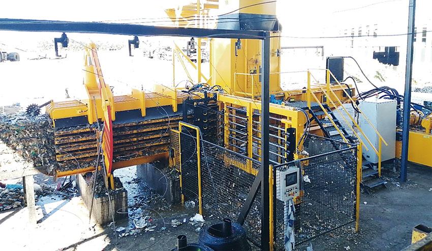 FCC confía de nuevo en IMABE IBERICA para nuevas prensas en el Centro de Residuos de Salamanca
