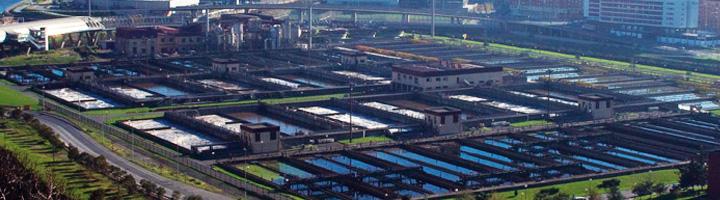 El Consorcio de Aguas Bilbao Bizkaia pondrá en servicio el nuevo tratamiento de olores de la EDAR de Galindo en febrero