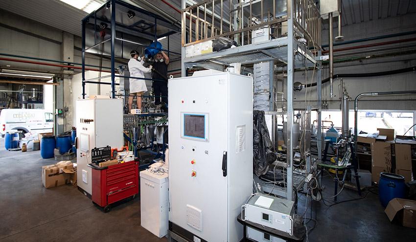 El Instituto de Carboquímica del CSIC trabaja en convertir biomasa forestal en gas natural sintético