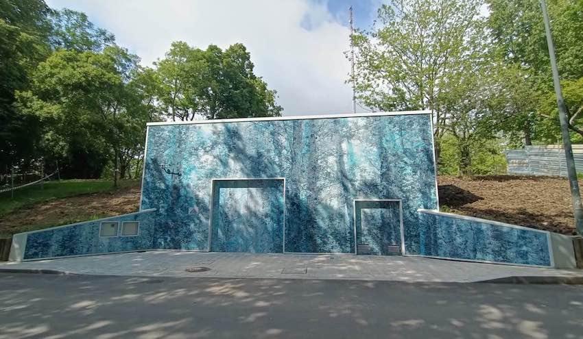 El nuevo depósito de Artxanda garantizar el abastecimiento de agua en Bilbao, Sondika, Zamudio y Derio