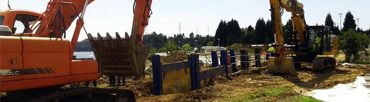 Acuaes pone en marcha las obras de los colectores del río Inxerto en Ferrol