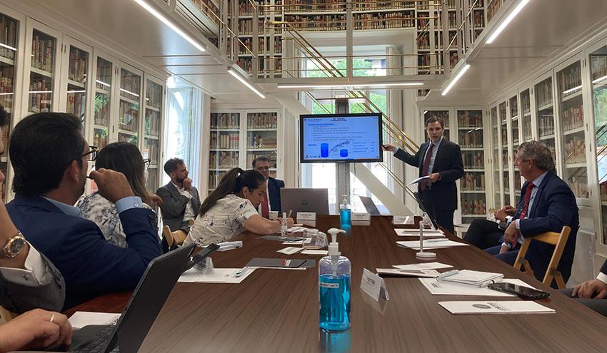 Aqualia participa en la formación sobre infraestructuras hidráulicas a gobernadores colombianos
