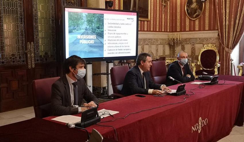 Emasesa planea ejecutar 250 millones de euros en obra pública en Sevilla