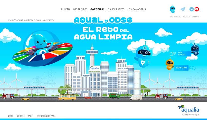 Aqualia acerca los ODS y la Agenda 2030 a los colegios en la 18ª edición de su Concurso Infantil