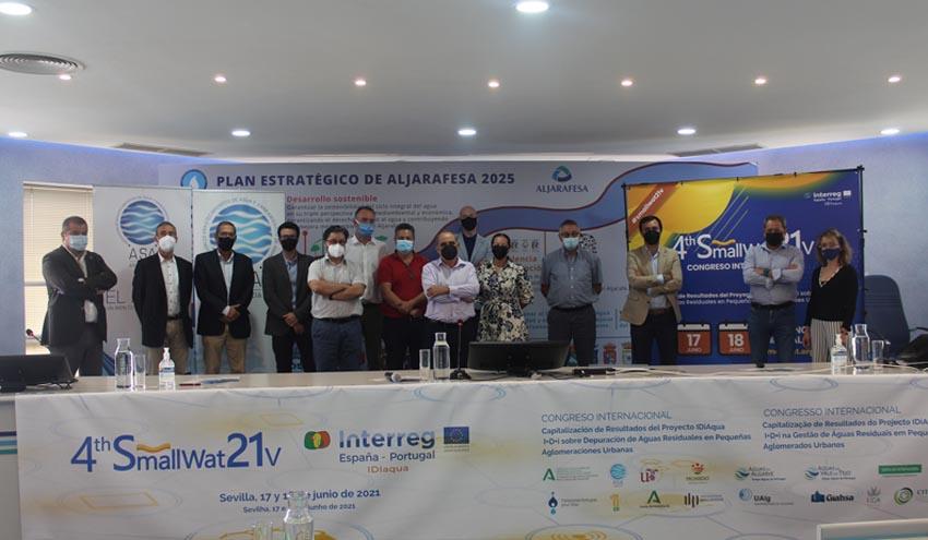 El Congreso Internacional #Smallwat21v pone el broche final al Proyecto IDIaqua