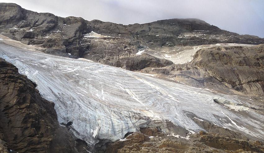 Los glaciares pirenaicos han resistido otros cambios climáticos, pero desaparecerán con este