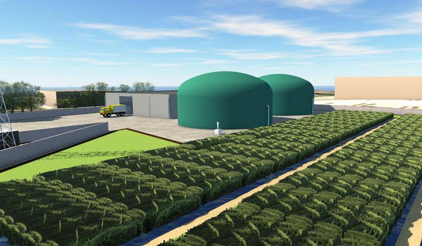 Proyecto RIAZOR, una innovadora planta de gestión circular de residuos y generación de biogás
