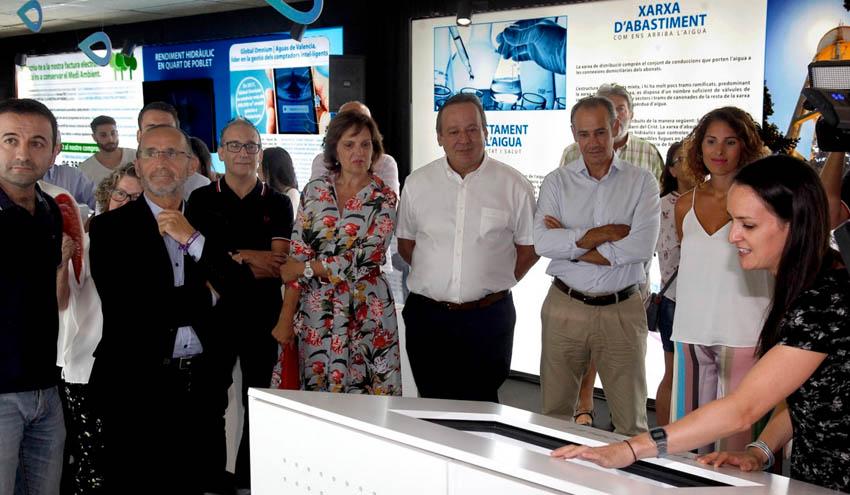 """El Ayuntamiento de Quart y Global Omnium inauguran la exposición """"Quart de Poblet, fets d'aigua"""""""