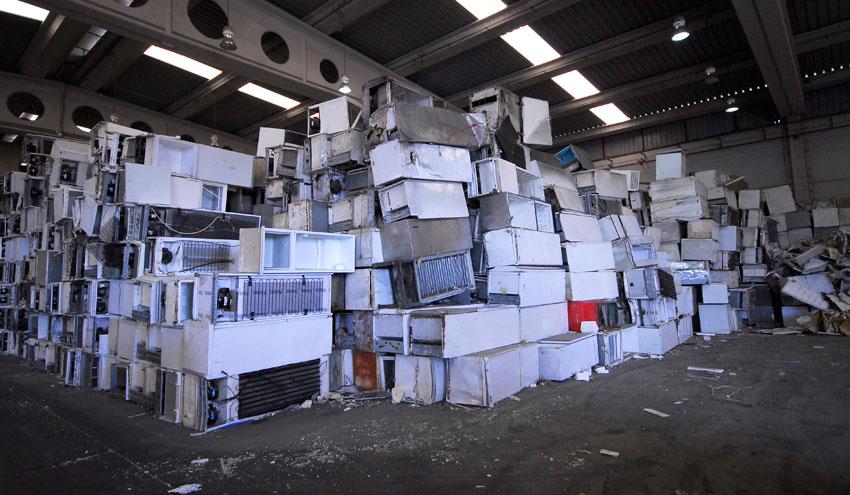 Recyclia dispara la gestión de residuos electrónicos y pilas un 39% en 2018