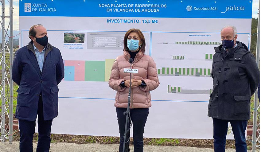 Luz verde a la licitación de la planta de compostaje de Vilanova de Arousa por 17 millones de euros
