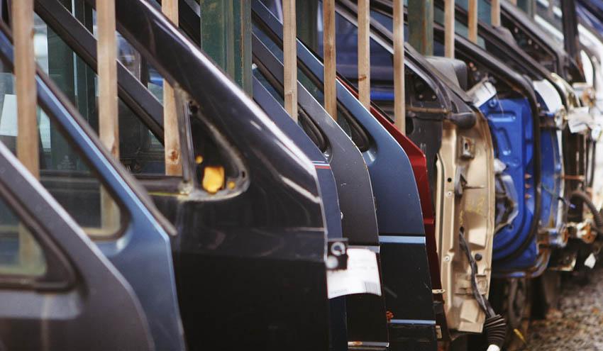 Fabricando vehículos sin enviar residuos al vertedero