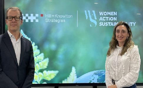 Alianza Women Action Sustainability y Hill+Knowlton Strategies por la sostenibilidad mediante el liderazgo femenino