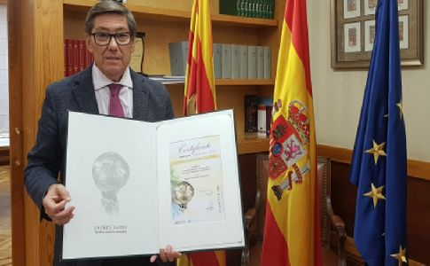 ELY4OFF de la Fundación Hidrógeno Aragón gana el National Energy Globe Award Spain