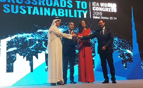 GS Inima recibe el premio 'Best Private Company' de Latinoamerica y Caribe en el IDA World Congress 2019