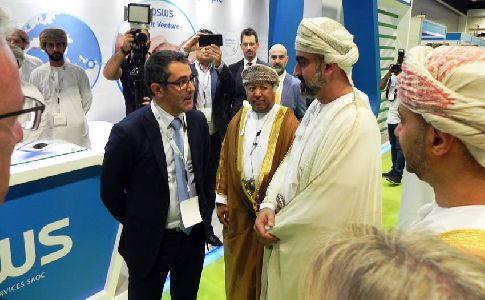 Aqualia y Majis presentan su alianza por la sostenibilidad en el Oman Energy & Water Exhibition and Conference 2018
