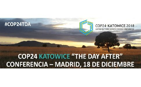 "Todo listo para la Jornada COP24 Katowice: ""The Day After"" organizada por SUST4IN"
