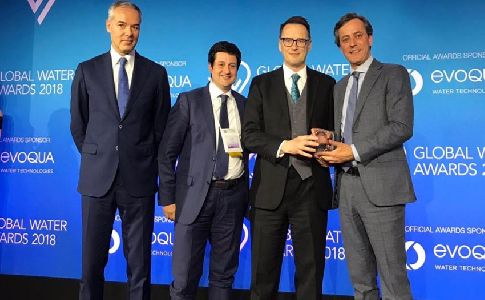 ACCIONA Agua recibe dos 'Distiction Awards' en los Premios Global Water Inteligence 2018