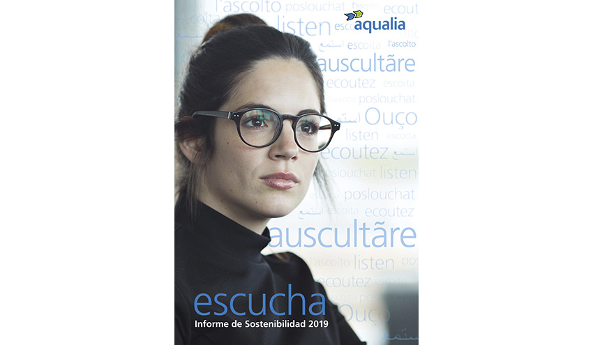 """Aqualia presenta """"Escucha"""", su Informe de Sostenibilidad 2019"""