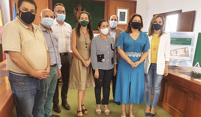 La Junta de Andalucía licitará en octubre las obras de la agrupación de vertidos y la depuradora de Mojácar