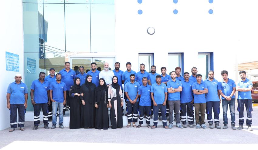Un año de gestión ejemplar de los servicios hídricos del puerto de Sohar en Omán
