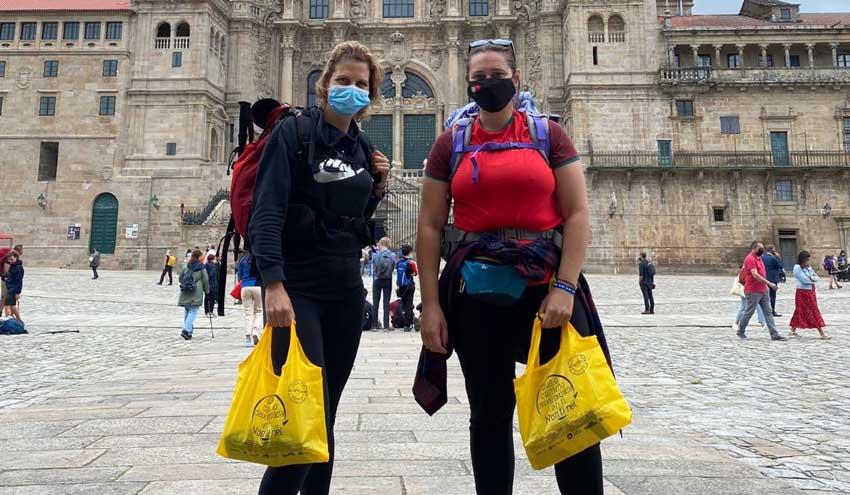 Ecoembes fomenta un Camino de Santiago libre de basuraleza y comprometido con el reciclaje