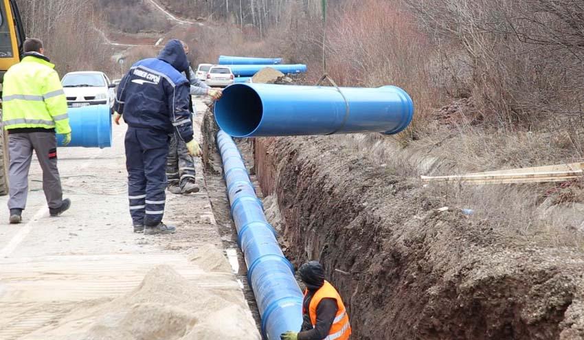 Molecor lleva agua a la ciudad búlgara de Pernik después de meses de fuerte sequía