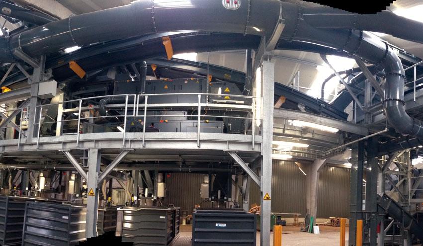 STEINERT EddyC FINES: el separador de metales no férricos para material de grano muy fino
