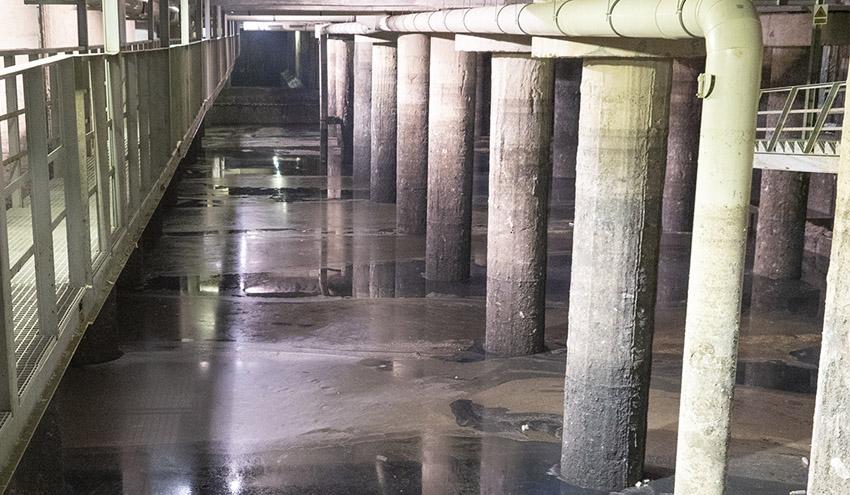 Los tanques de tormentas de Madrid recogieron más de 800.000 metros cúbicos de agua tras las intensas lluvias