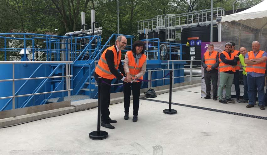 Inaugurada la nueva depuradora de la fábrica de Ahlstrom-Munksjö Paper en Berastegi
