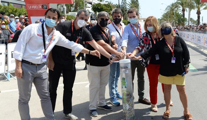 El regreso de público a la Vuelta a España permite a Ecopilas reciclar 1,3 toneladas de pilas usadas