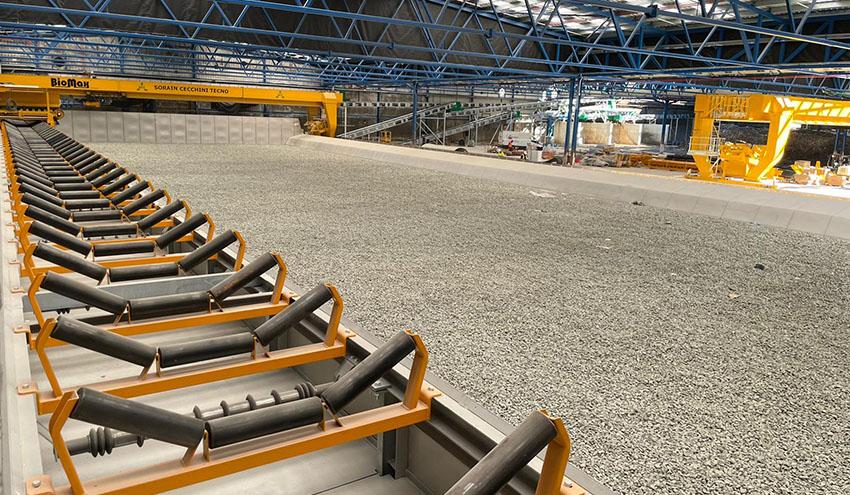 La planta de residuos de El Campello instala tecnología avanzada para optimizar el compostaje
