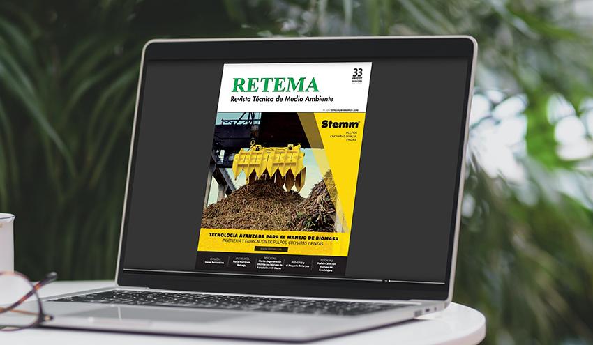 Lee ya la edición digital del número 225 Especial Bioenergía 2020 de RETEMA