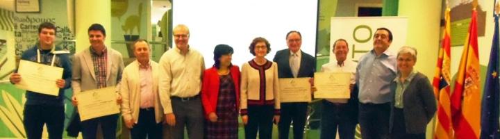 SIGFITO premia a los 4 puntos de recogida que más envases reciclaron durante el año agrícola de 2014 en Aragón