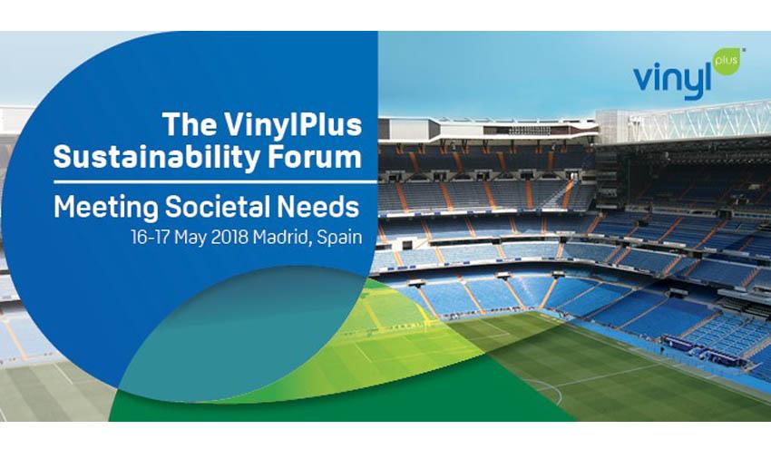 """""""Meeting Societal Needs"""": tema central del próximo VinylPlus Sustainability Forum que tendrá lugar en Madrid"""