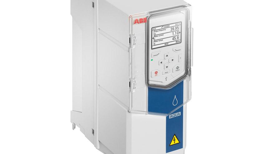 ABB lanza una nueva generación de convertidores para asegurar el flujo seguro en aguas limpias y residuales