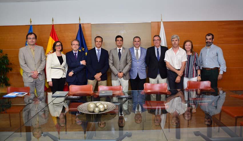 La cátedra Aguas de Valencia incrementa su compromiso con la formación de los futuros ingenieros de la UPV