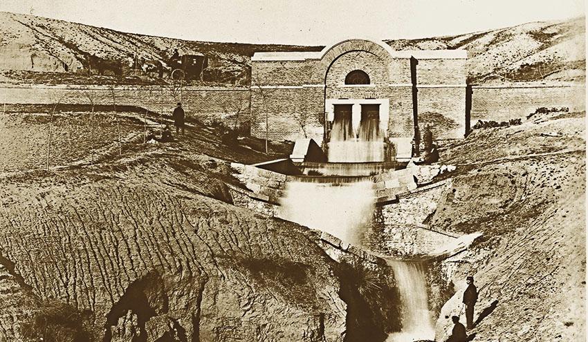 La presa del Pontón de la Oliva: la primera gota de un Madrid de agua