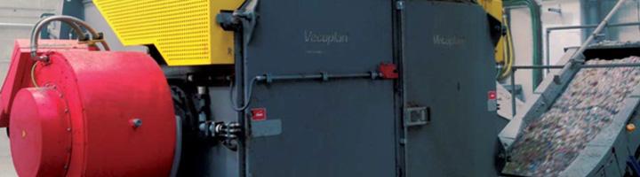 Vecoplan colabora con Ferrovial Servicios instalando un triturador VAZ 2000 RSFT para producción de CDR en la planta de Cañada Hermosa